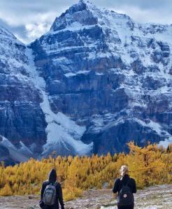 September snow in Banff