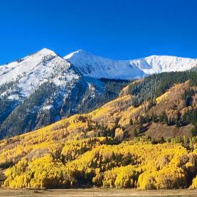 Crested Butte after the storm cleared on Sept. 25   Photo: Crested Butte Mountain Resort