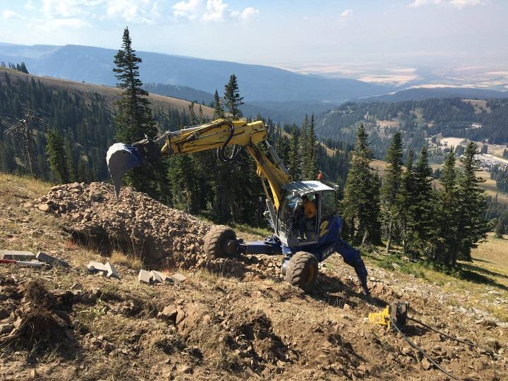 new Blackfoot chairlift Grand Targhee
