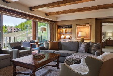 The Little Nell Residences soft goods update features modern design, natural colors and mountain comfort. | Photo: The Little Nell Residences