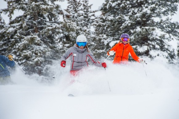 If you have specific goals you'd like to tackle and want one-on-one attention, opt for a private lesson. | Photo: Aspen Snowmass
