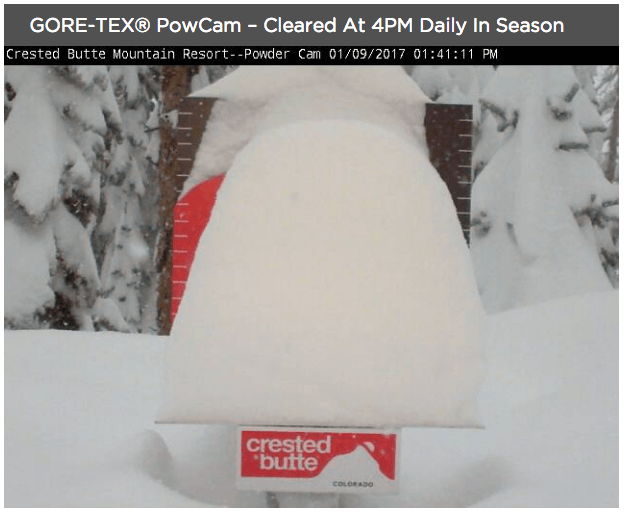 Crested Butte snow, Crested Butte closes