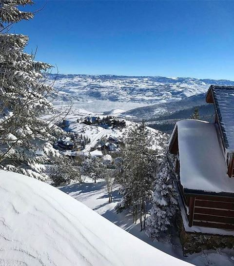 Deer Valley Utah skiing resort powder