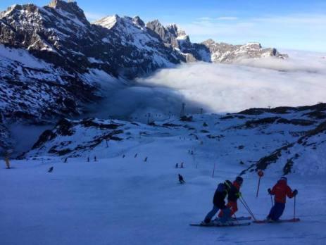 engelberg ski resot europe switzerland