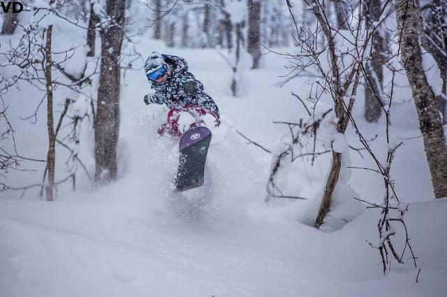 japan skiing snow rusutsu
