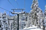 Heavenly snow