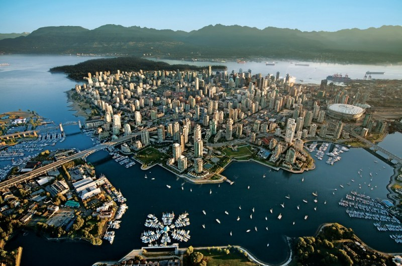 Vancouver Skyline. Vancouver, BC, Vancouver BC, Vancouver British Columbia