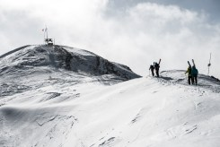 how to ski the bowl