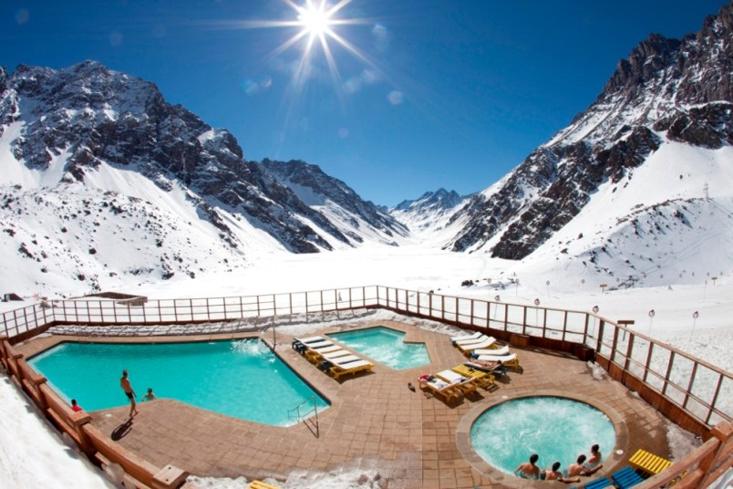portillo pool, portillo chile