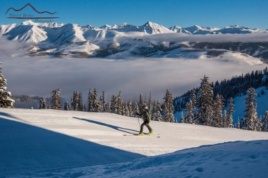 Skinning at Crested butte
