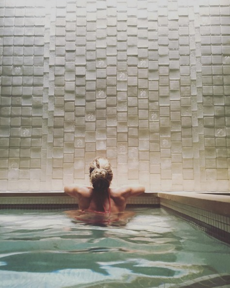 The Spa in the Four Seasons is the perfect way to unwind after a long ski day. | Photo: Four Seasons Resort and Residences Jackson Hole