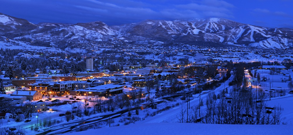 night skiing at Steamboat Springs, steamboat night sking
