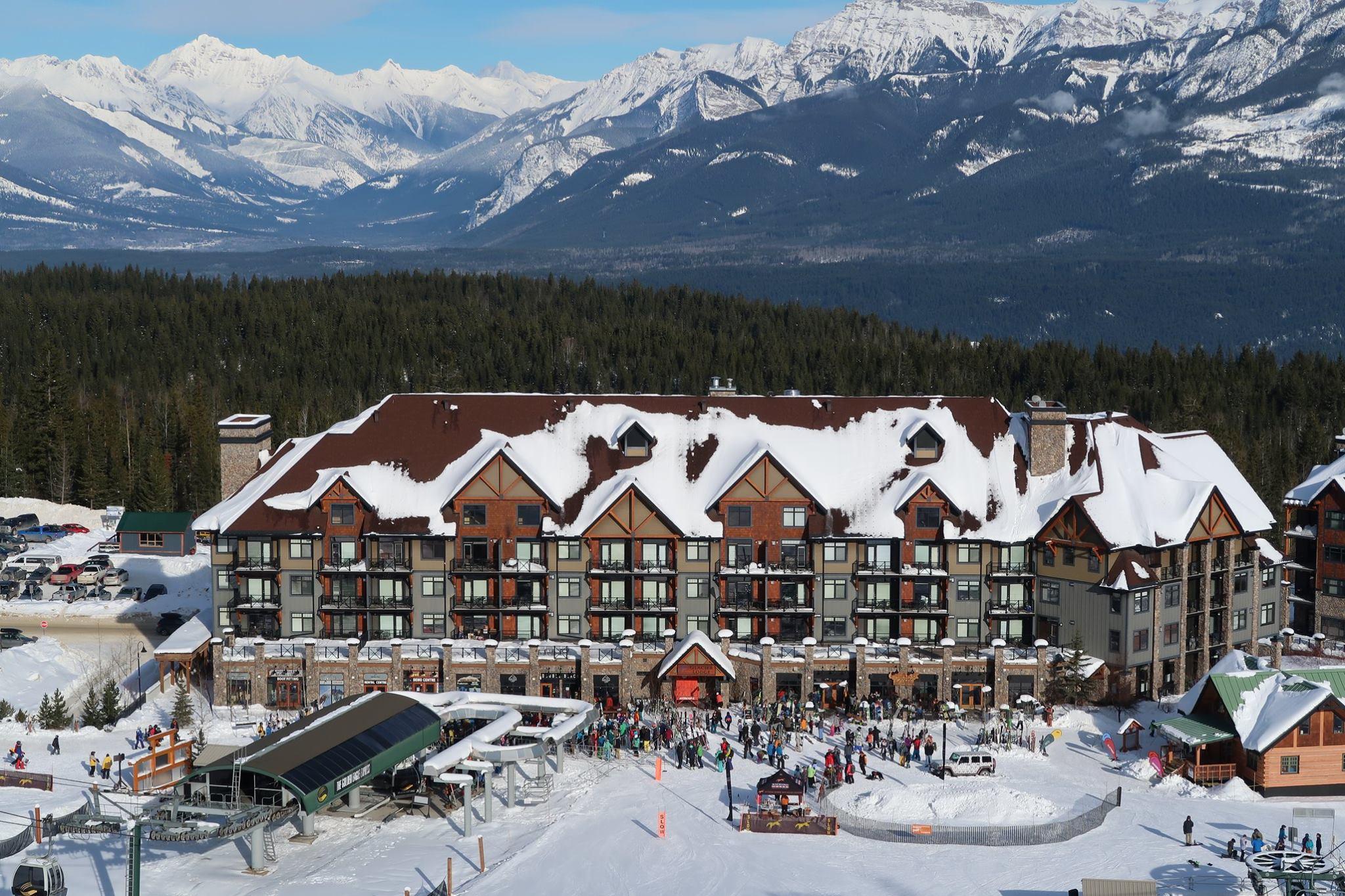 ski in, ski out lodging in kicking horse, british columbia