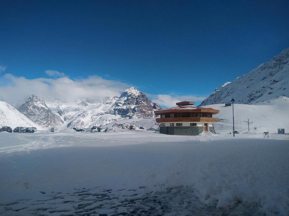 skiing in portillo
