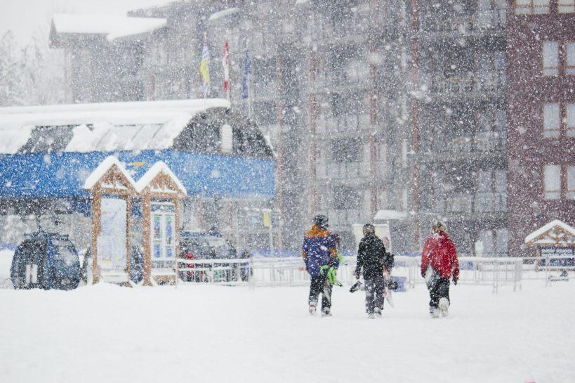 skiing in revelstoke, british columbia