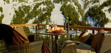 jackson hole slopeside lodging