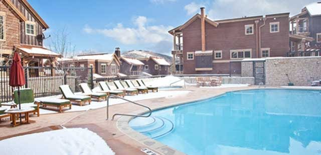 park city slopeside lodging