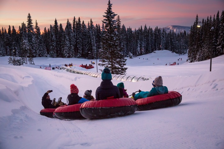 Snowmass snow tubing