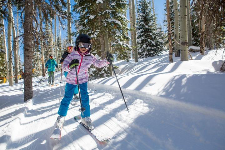 Snowmass tree trails kids