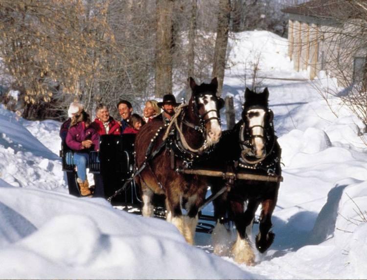 sleigh rides in park city