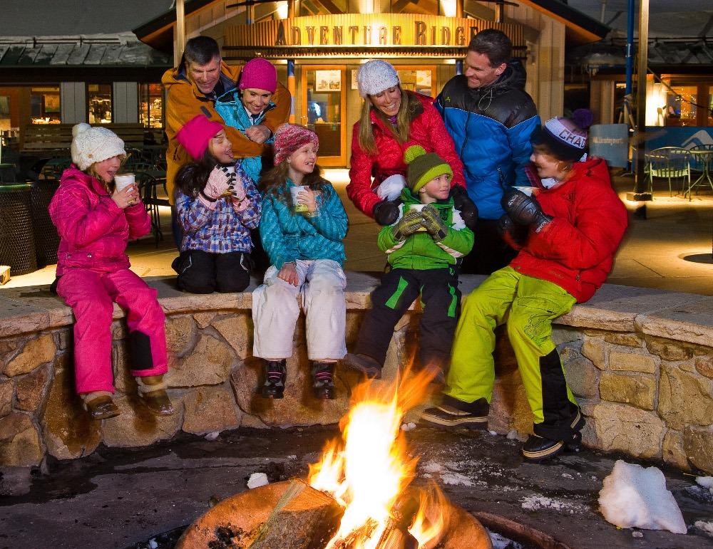 family ski trips, family ski vacation, adventure ridge family
