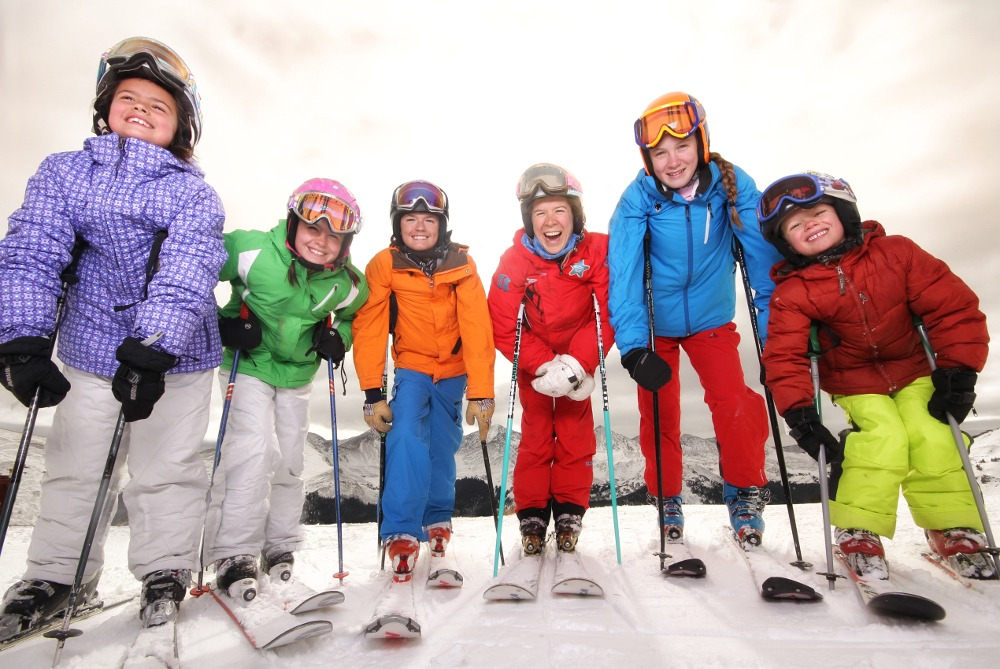 Copper Mountain beginner skiing