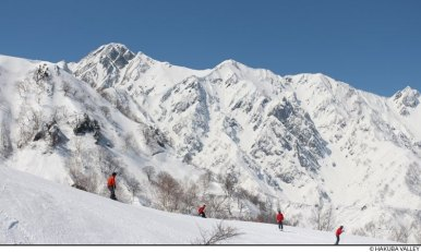 hakuba ski resort, japanese alps