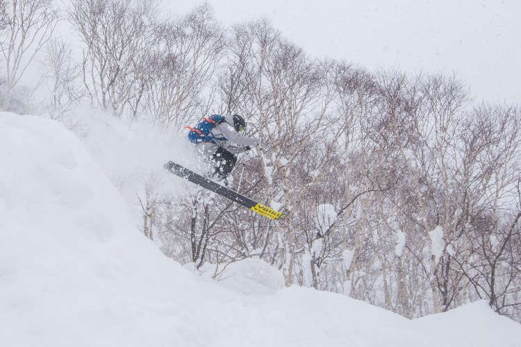 Japan tree skiing, where to tree ski in Japan