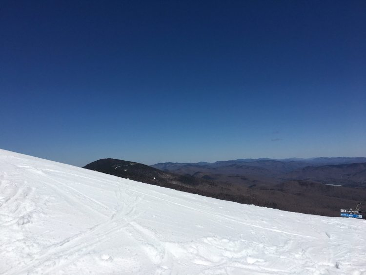 Killington spring conditions, what is Killington skiing like in April, killington spring skiing