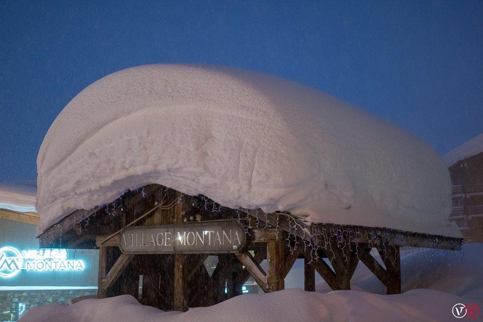 alps snow storm 2018