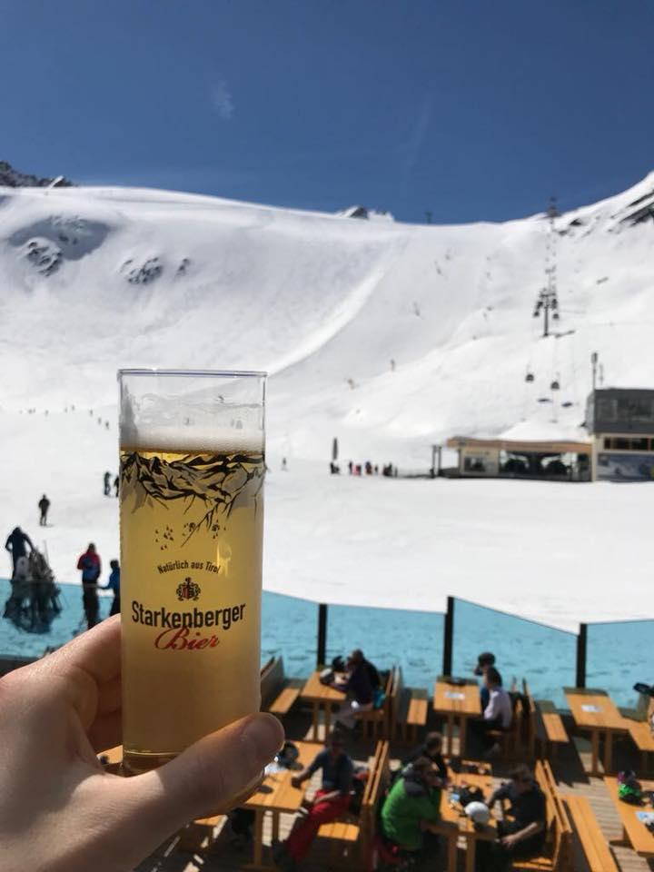 solden glacier skiing