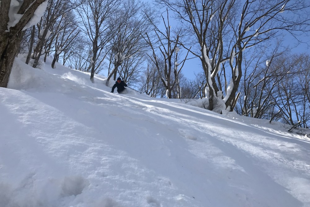 japanese alps snow, nagano snow, snowfall japan