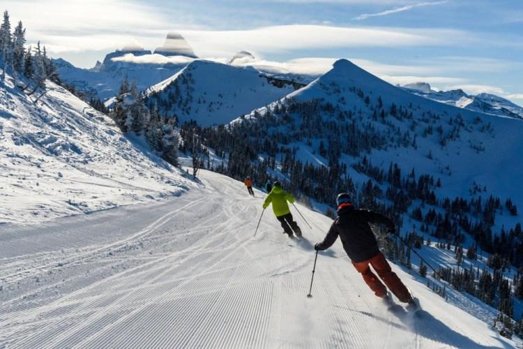 grand targhee, skiing in the tetons, skiing in wyoming