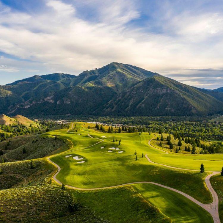 Golf at ski resorts
