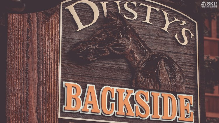 Dusty's backside
