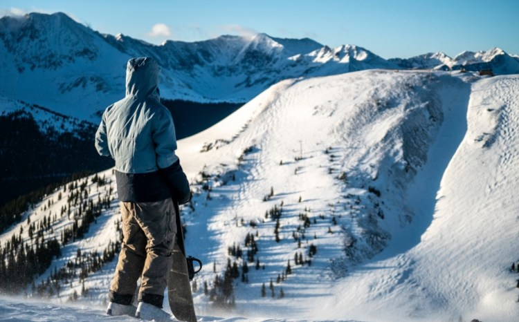 Chairlifts at Copper Mountain elevation