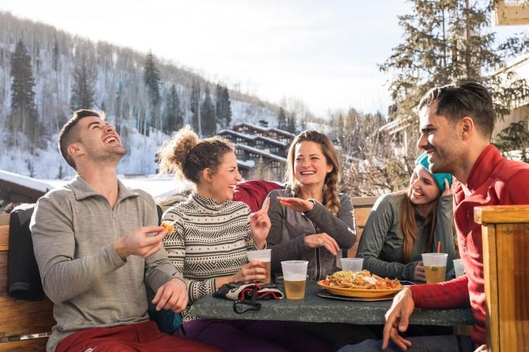 Apres in Colorado ski march