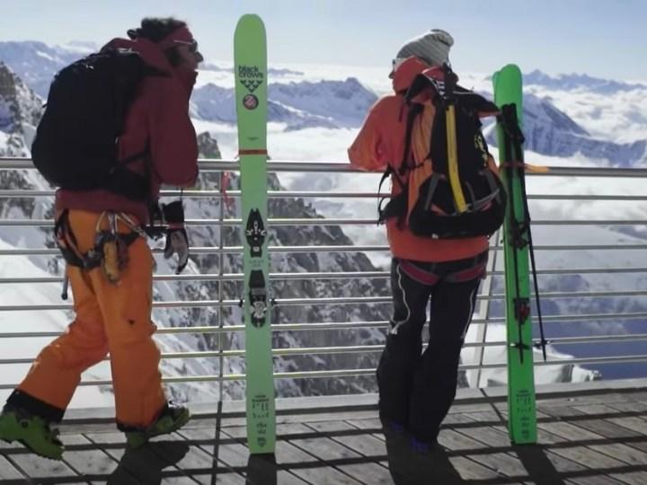 Chamonix Ski Bums Tony and Deano