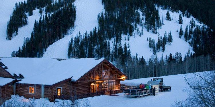 Best ski resort sleigh ride dinners | beaver creek beano's cabin