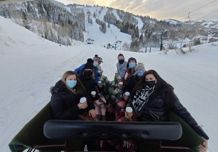 Best sleigh ride dinner in Park City Deer Valley