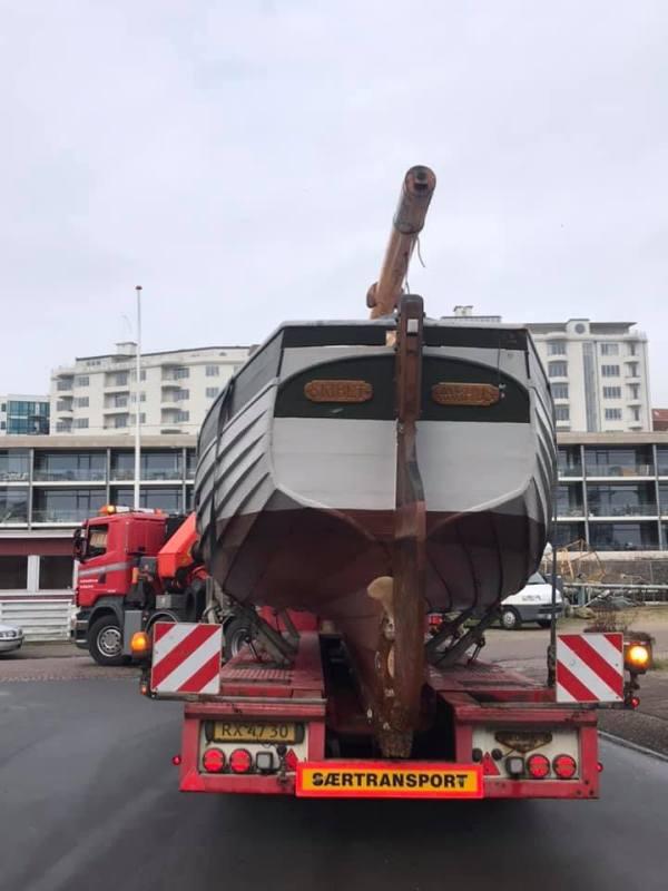 Skibet træskib båd sejlads 2