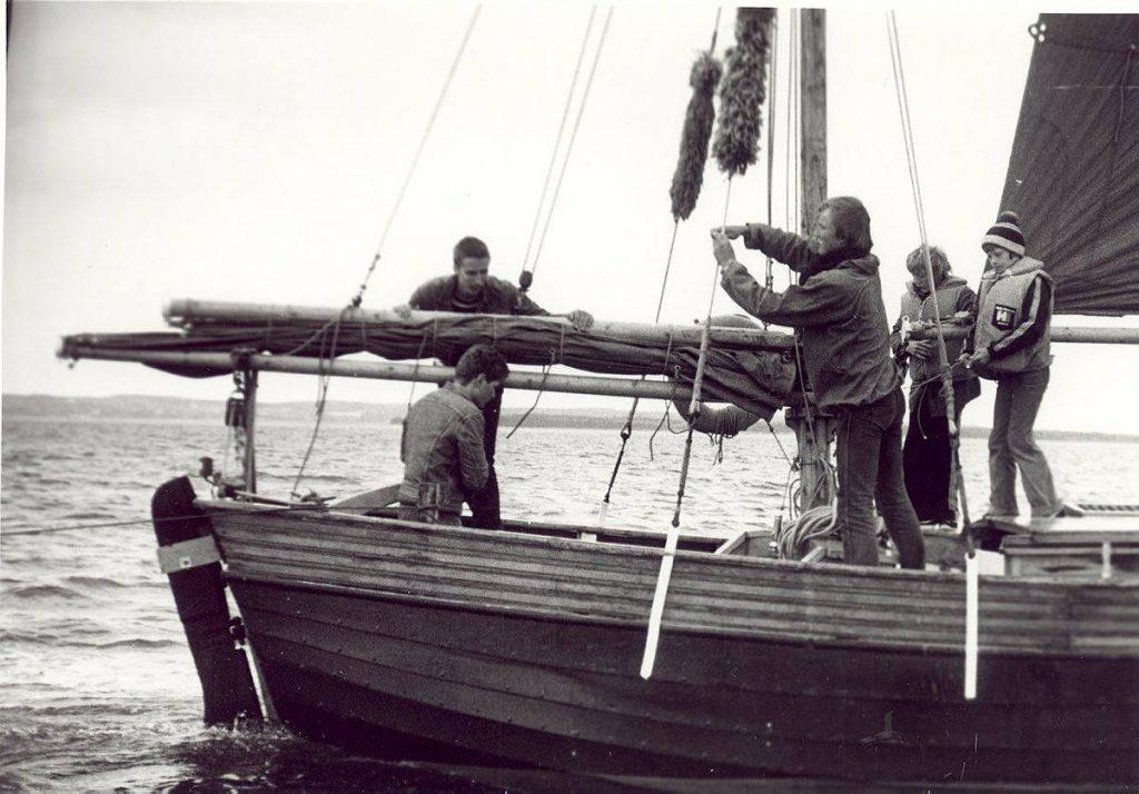 Skibet træskib båd sejlads 7