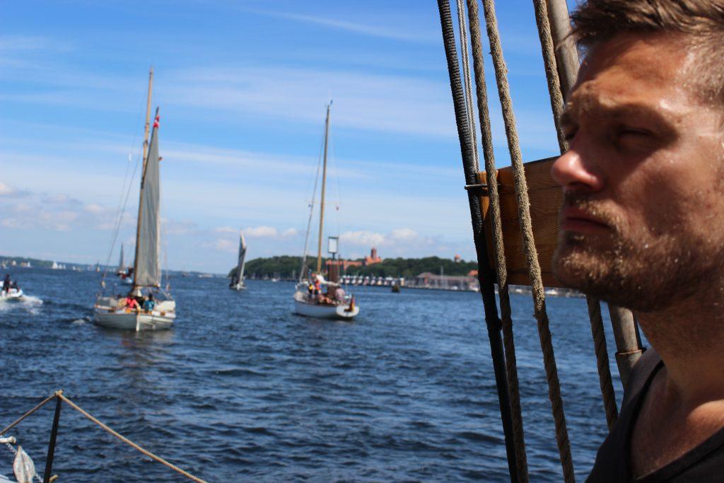 Skibet træskib båd sejlads Flensborg romregatta