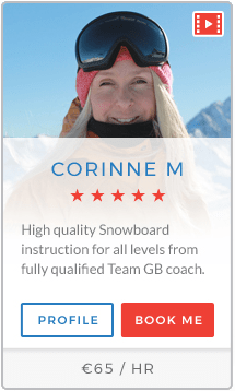 Corinne M Instructor Courchevel
