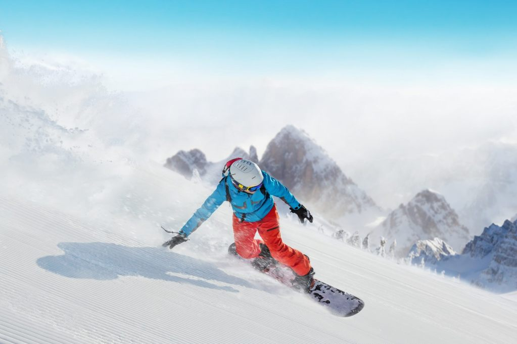 Snowboarding Lessons Courchevel