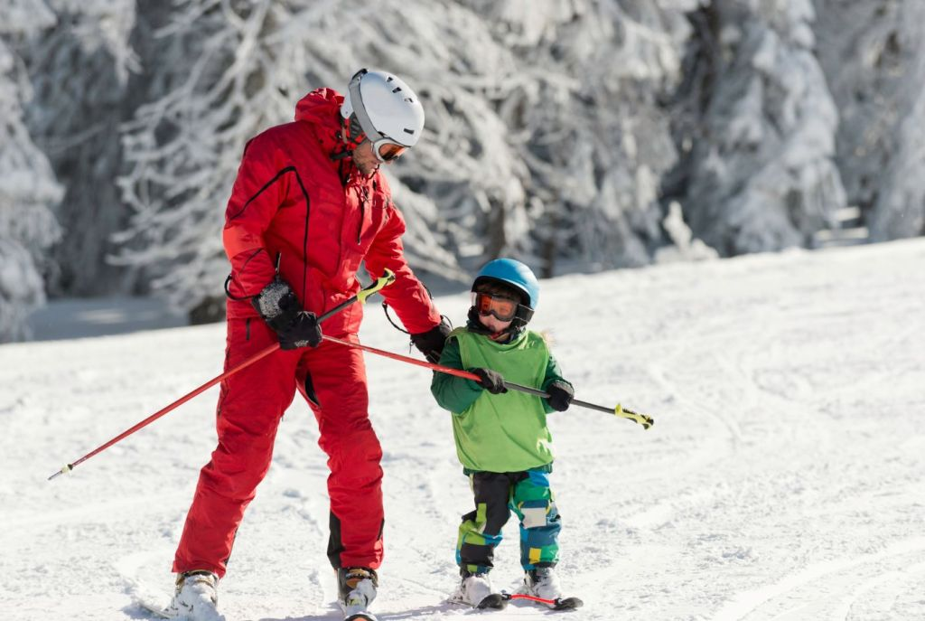 Kids Ski Lessons Les Menuires