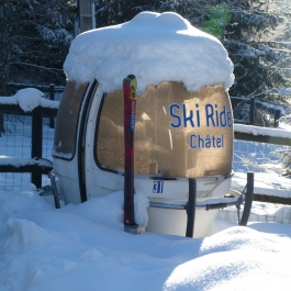 Chalet Tzigane bubble car!