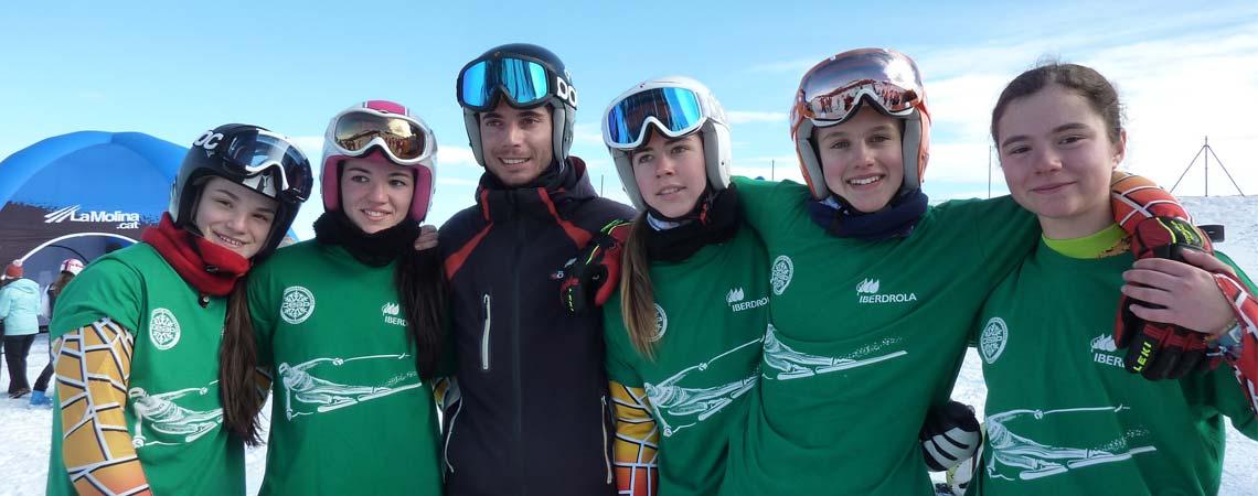 Equip de competició alpí