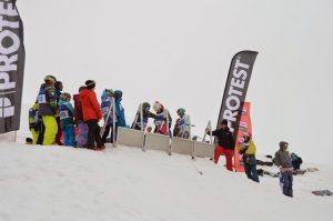 Course de snowboard organisée par la Section SNOW du club