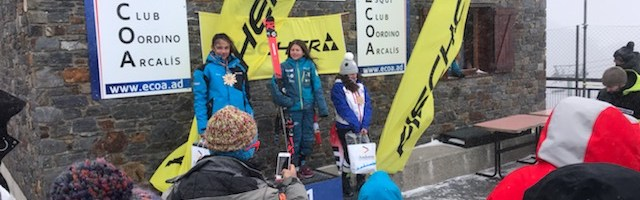 Fisher Ski Comp ARCALIS – U14